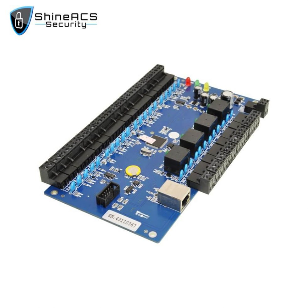 Access Controller Main Board SA B04 980x980 - TCP/IP Access Controller Board