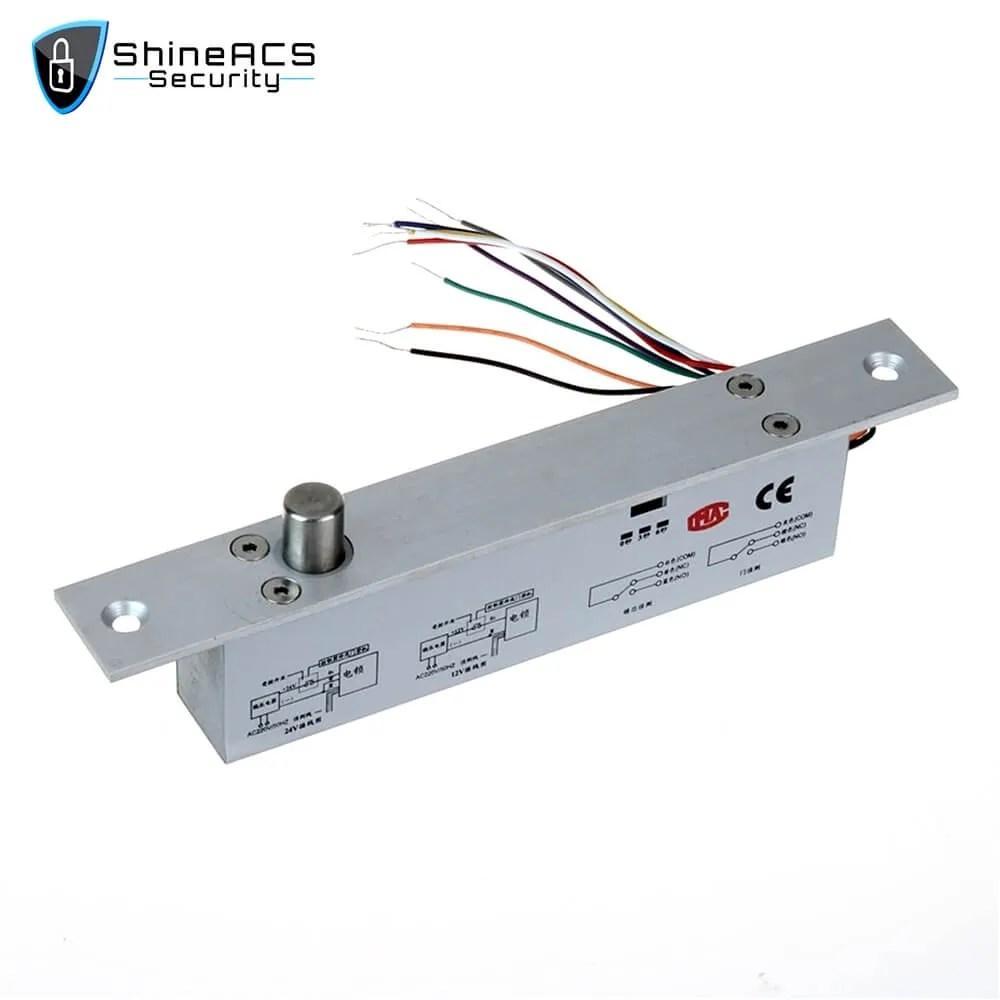 Narrow Panel Electric Bolt lock SL E153SLDN 3 - ShineACS Access Control Products
