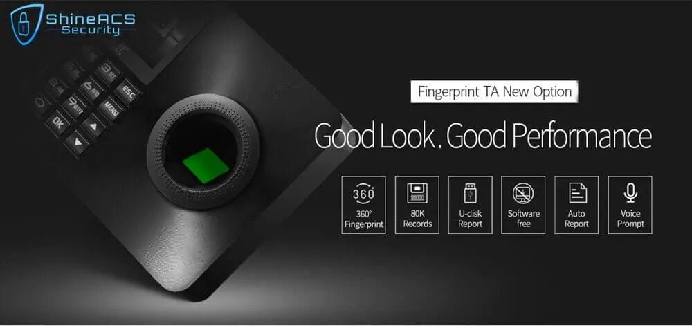 Fingerprint Time Attendance ST F001 1 - Fingerprint Time Attendance And Access Control Machine ST-F001(4G Optional)