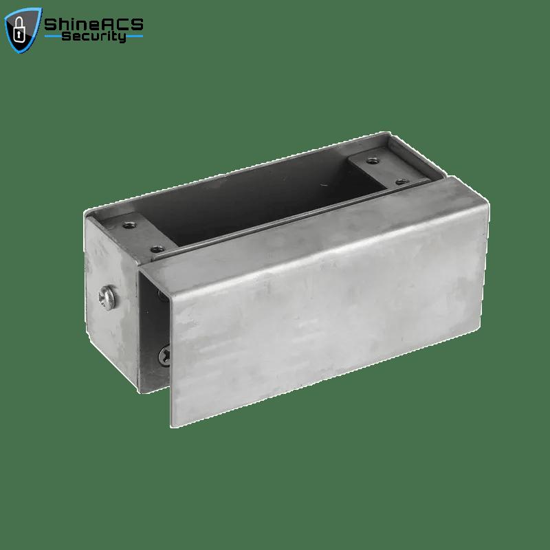 KJL100D 4 - Glass Door Electric Drop Bolt Lock Bracket SL-B100D