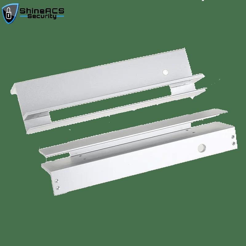 KJL101UL 1 - Manyetik kilitli Cam kapı için Manyetik Kilit Parantez