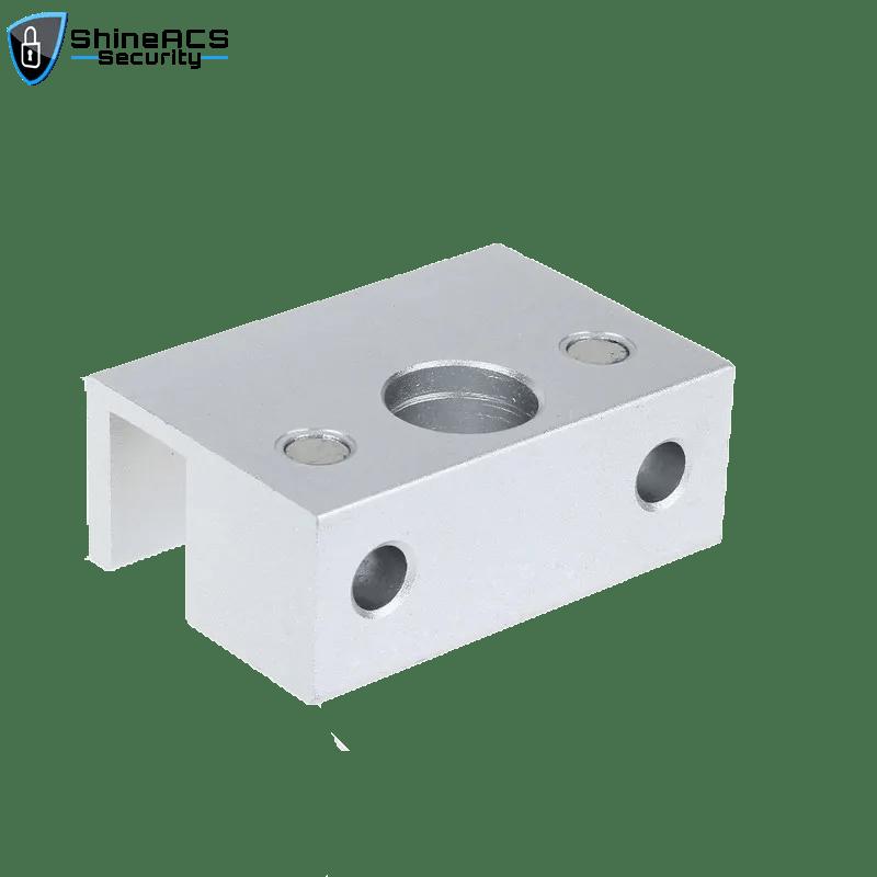 SL B100 3 - Electric Deadbolt Lock Bracket for Glass Door