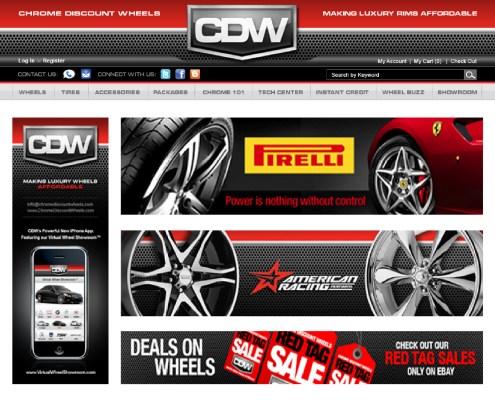 Chrome Discount Wheels Digital Ads 1