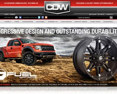 Chrome Discount Wheels Digital Ads 3