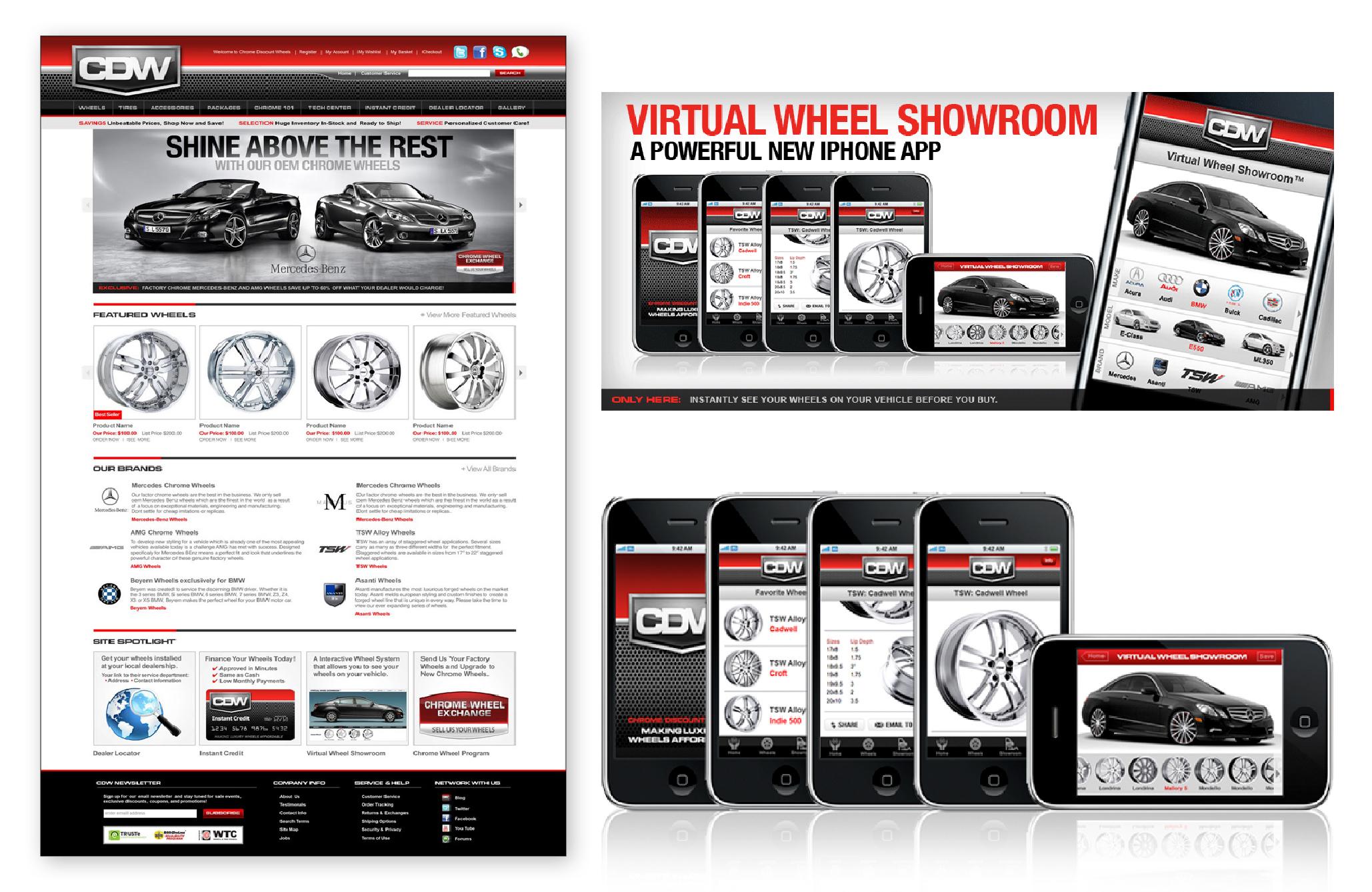 Chrome Discount Wheels Website