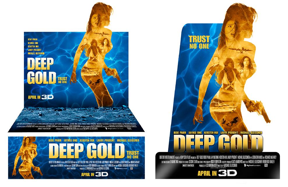 Deep Gold Standee