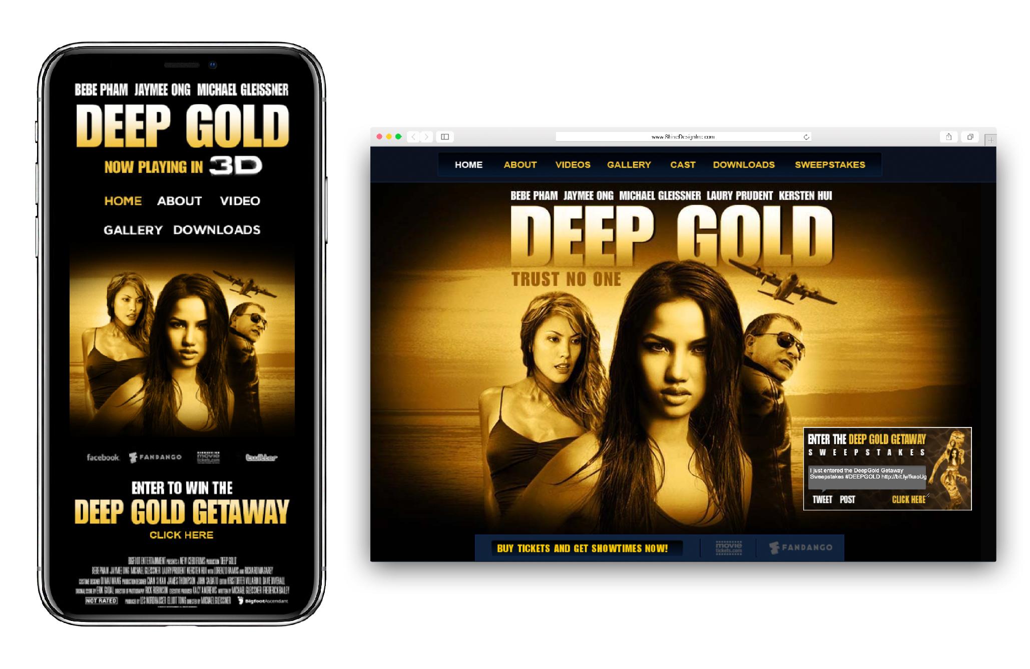 Deep Gold Website