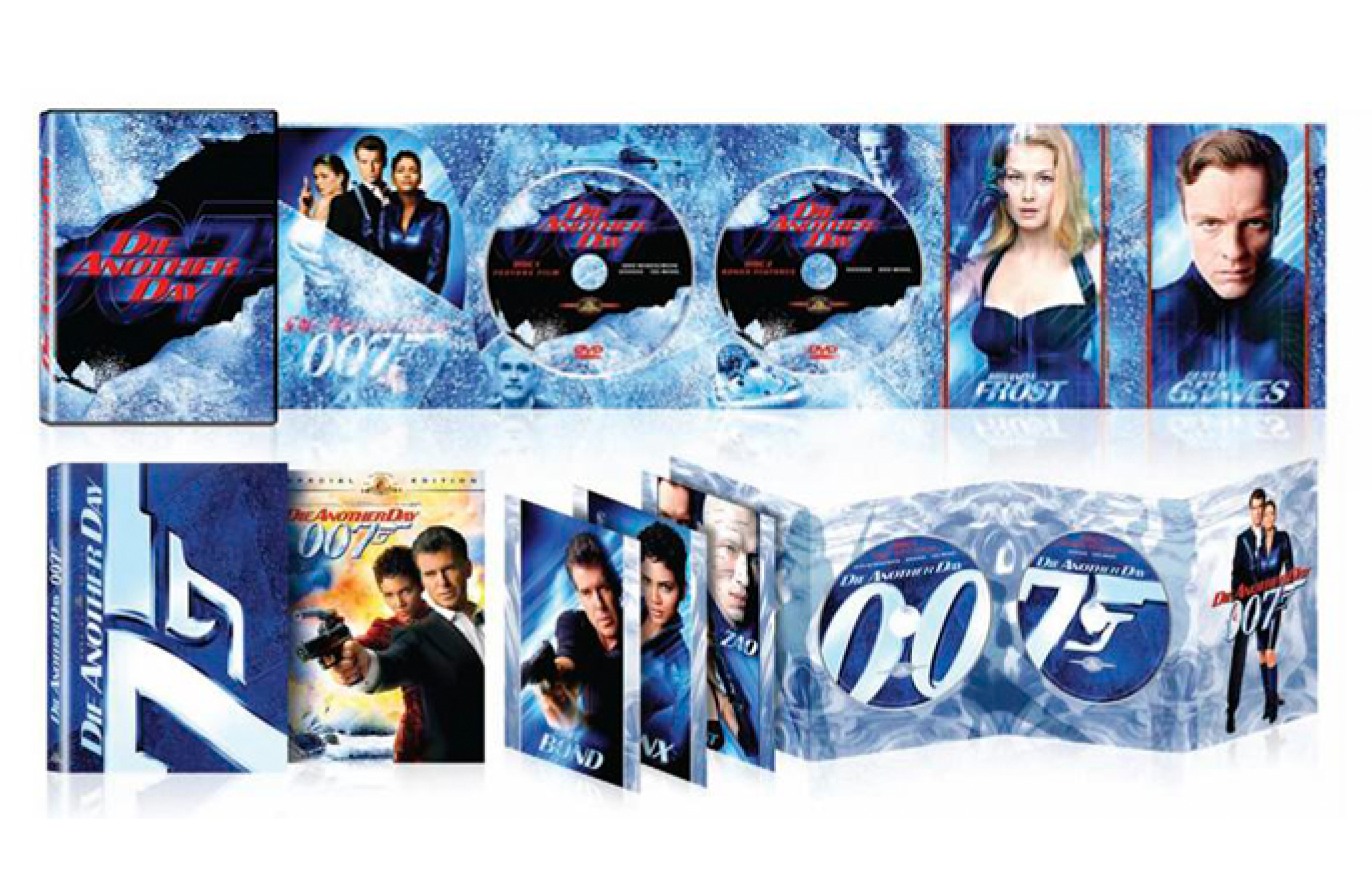 Die Another Day Special Packaging dvd