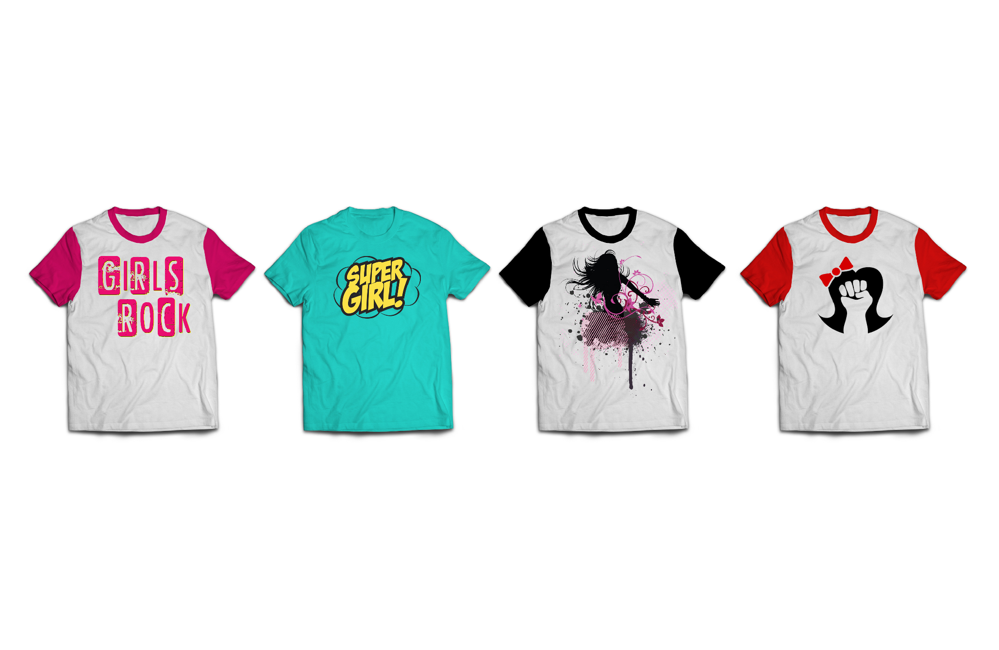 Girl Power T-Shirt Design - King of Harts - Melissa Joan Hart