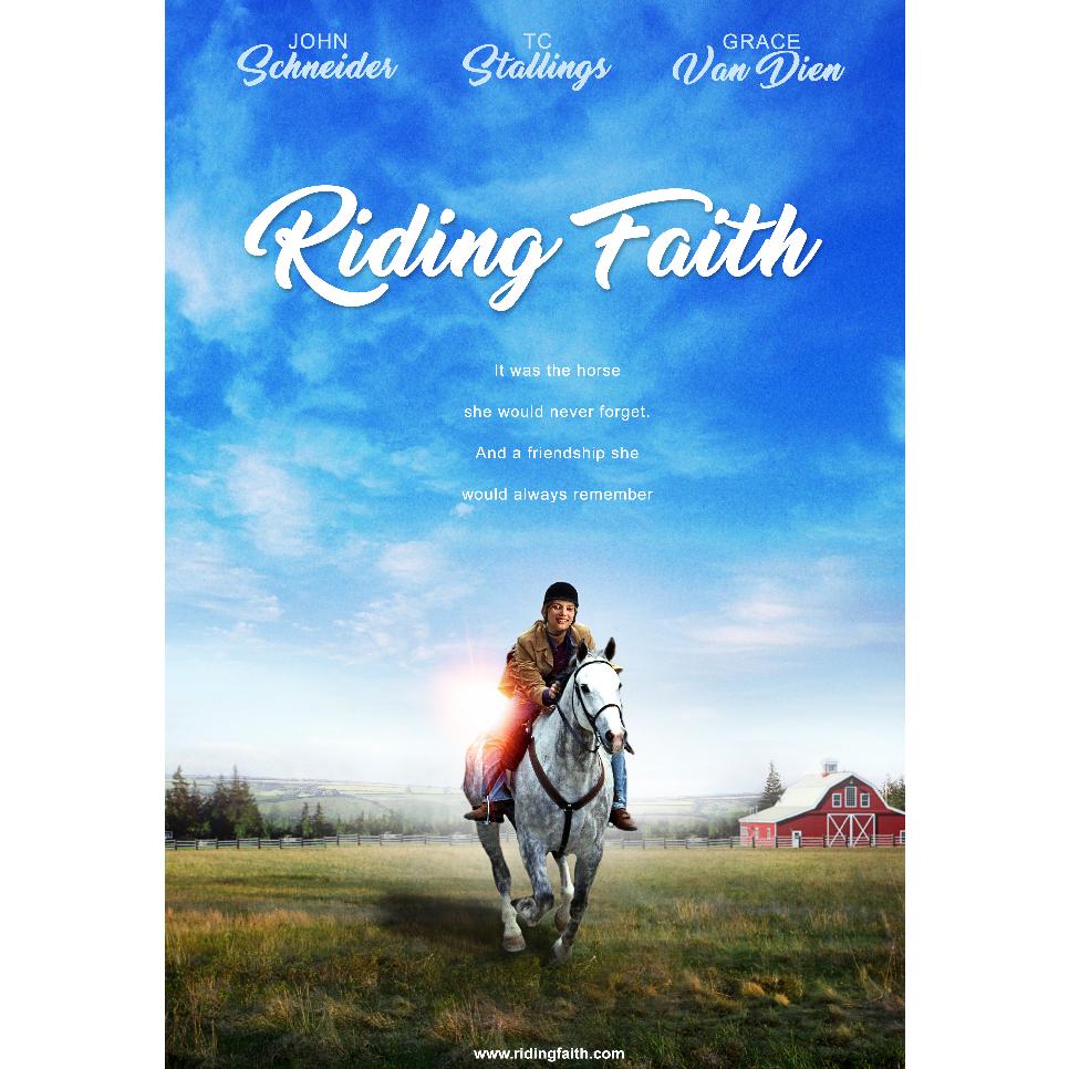Riding Faith Keyart