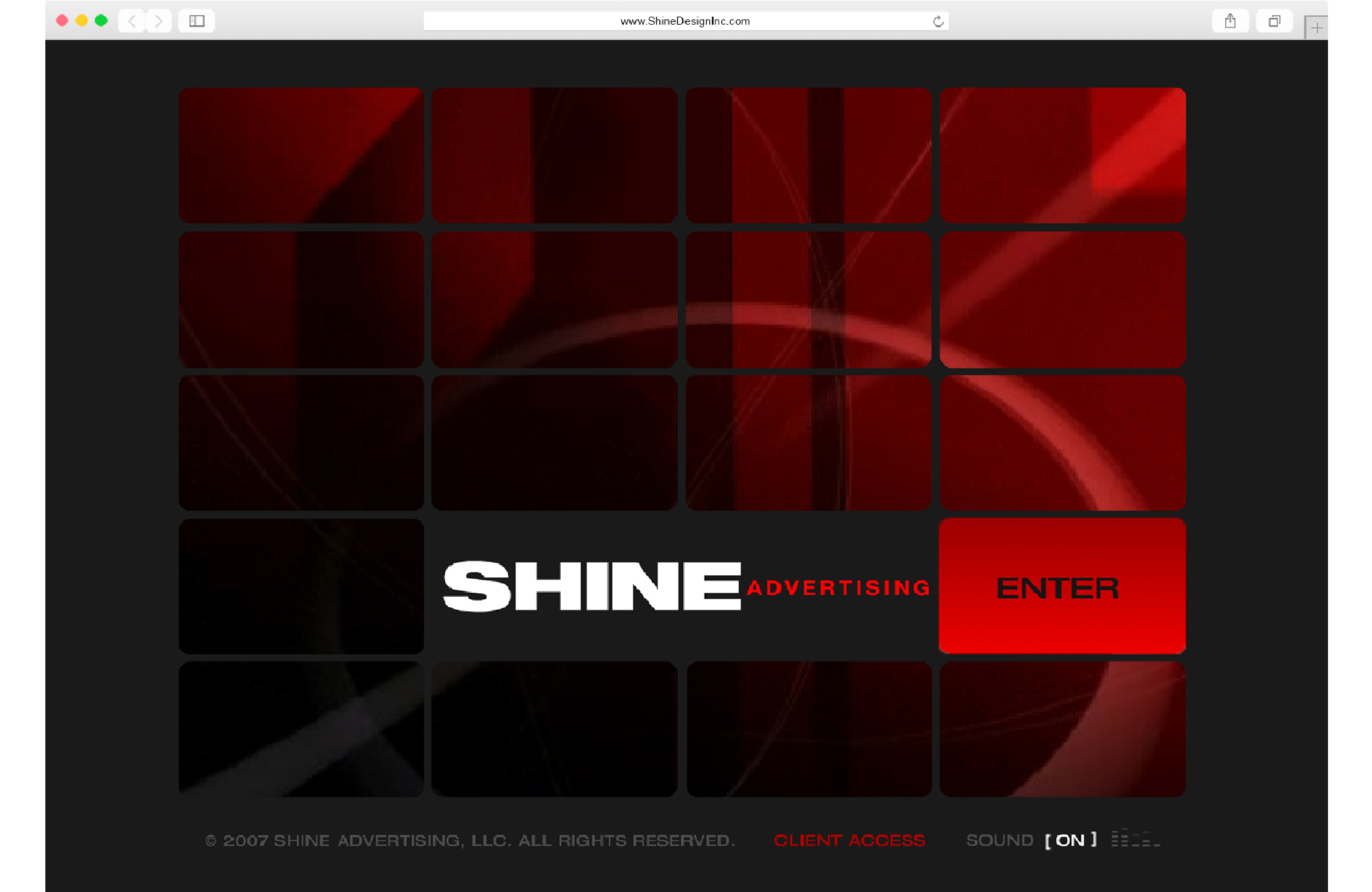 Shine Design Inc Archived Website 1