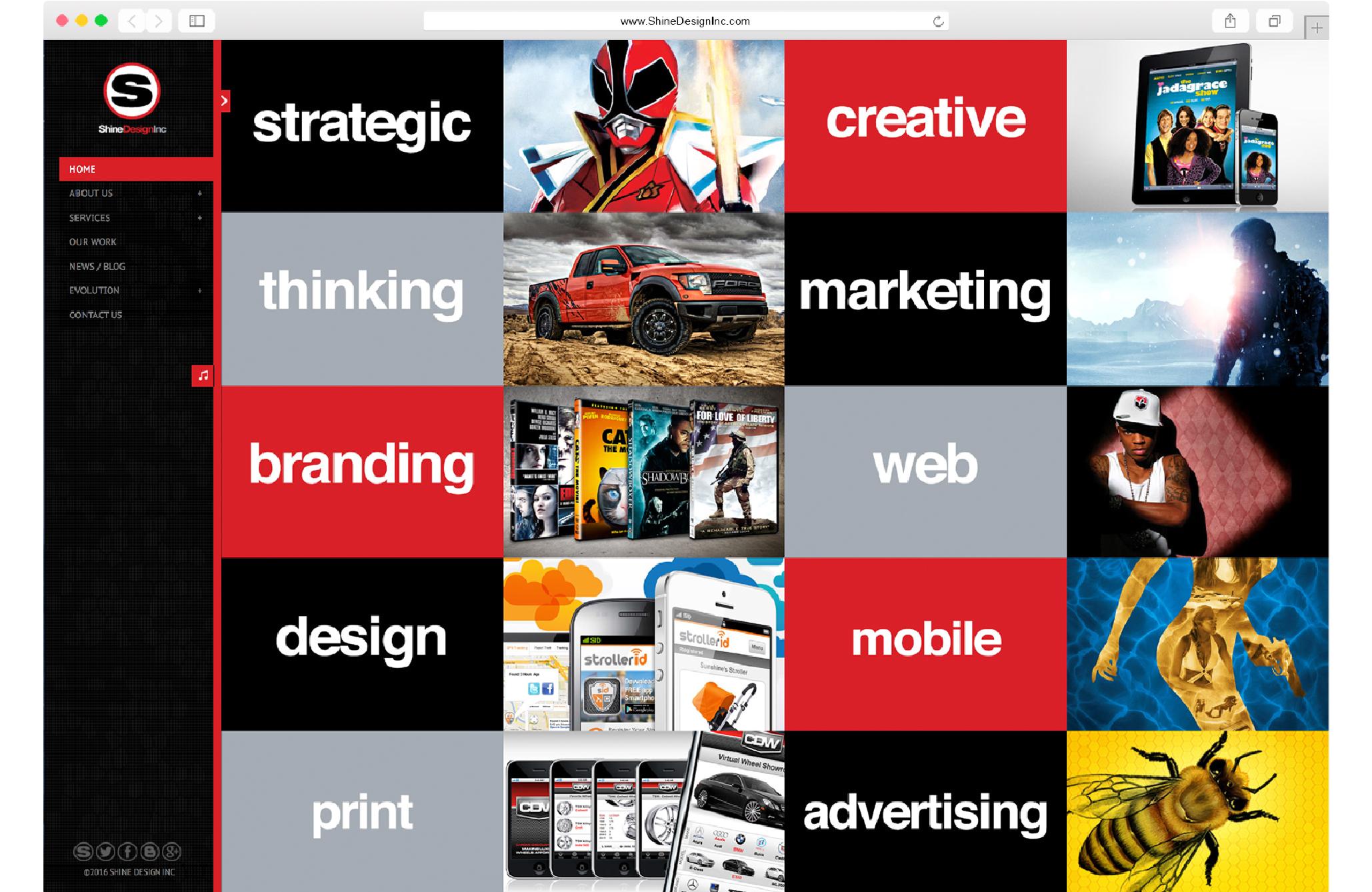 Shine Design Inc Archived Website 4