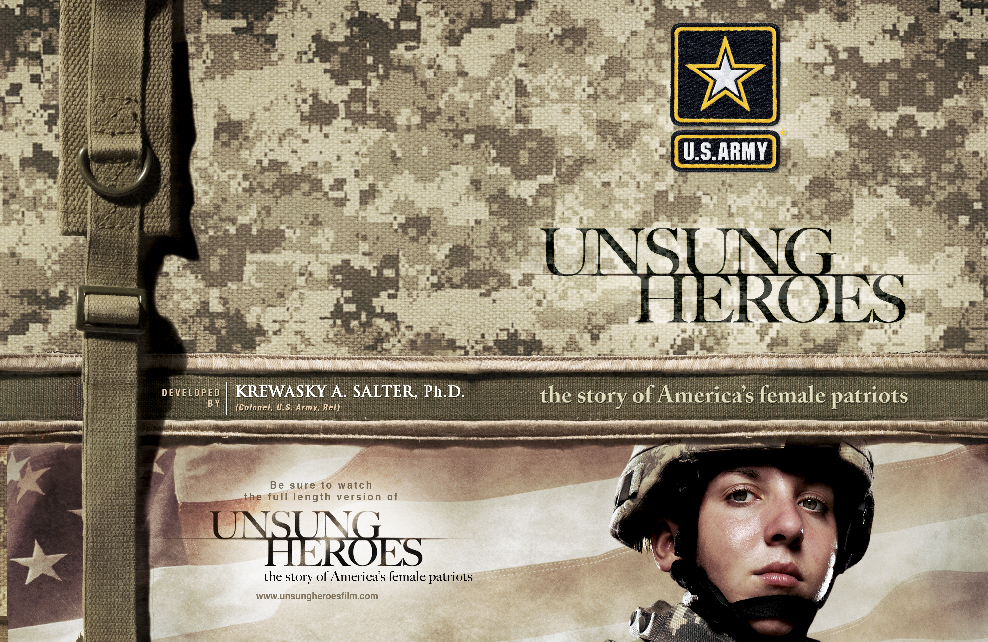 Unsung Heroes US Army Educational Booklet Featured Image