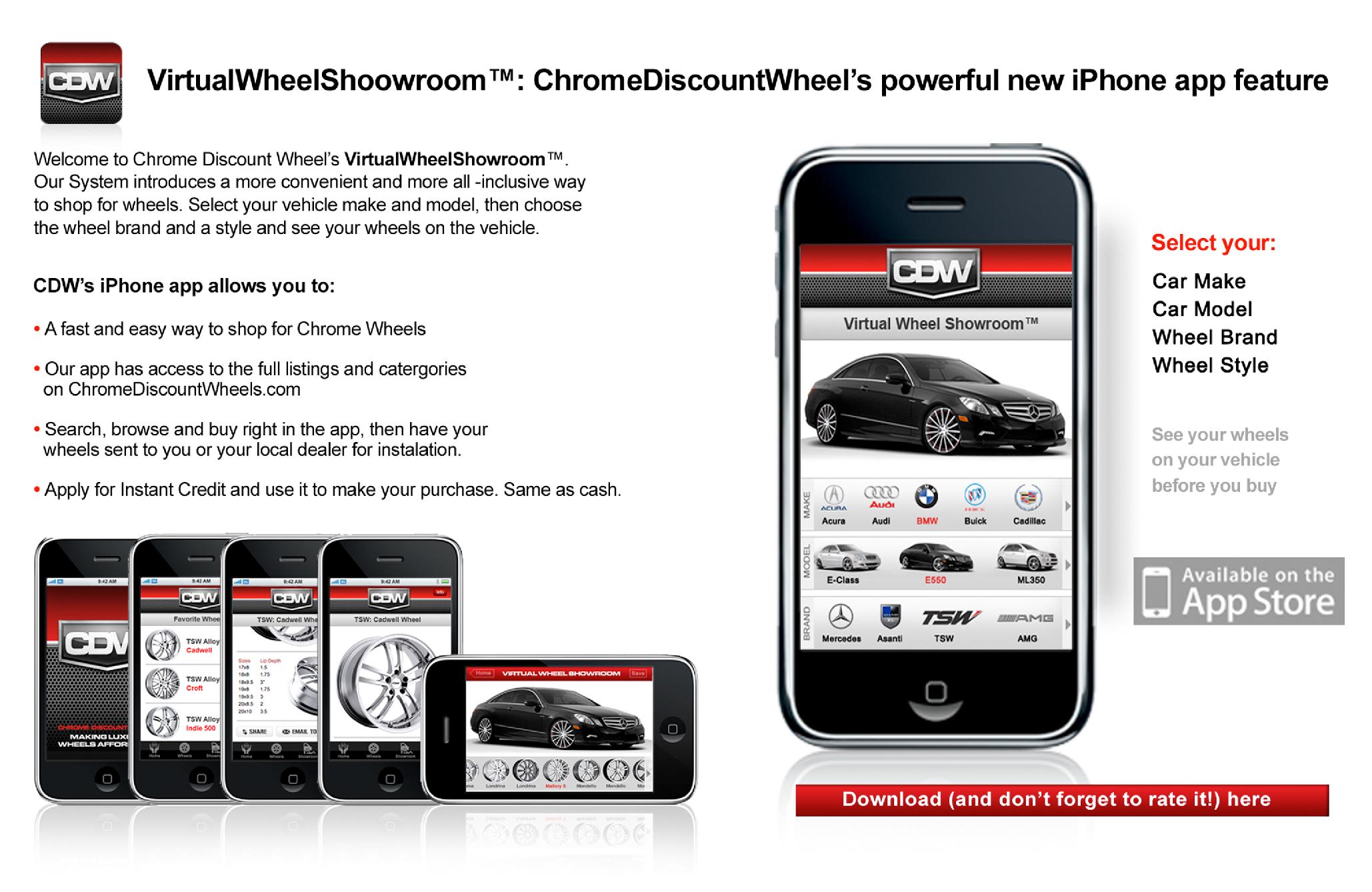 Virtual Wheel Showroom by Chrome Discount Wheels 1