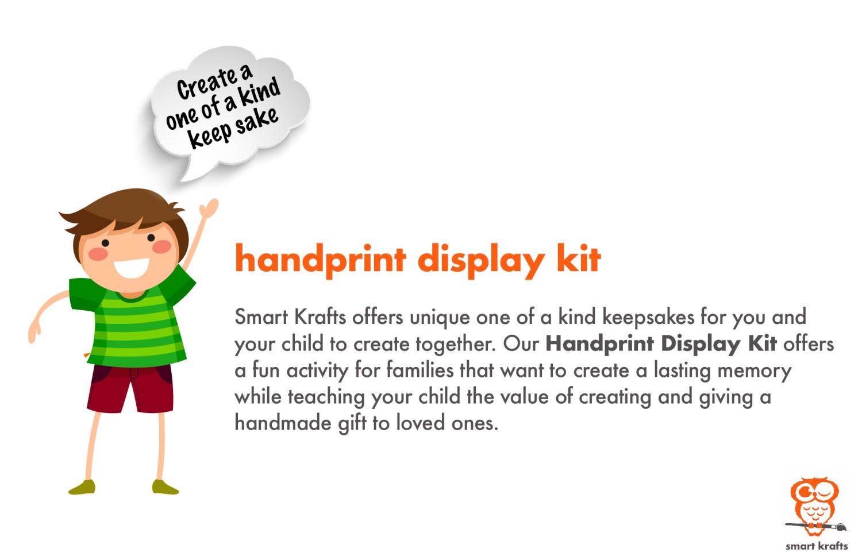 Smart Krafts - Packaging - Handprint Display Kit - 02