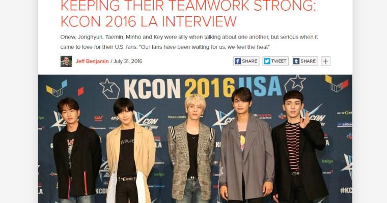 [Interview] Fuse – KCON LA 2016