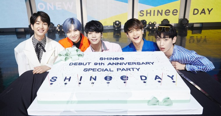 SHINee 9th Anniversary Party