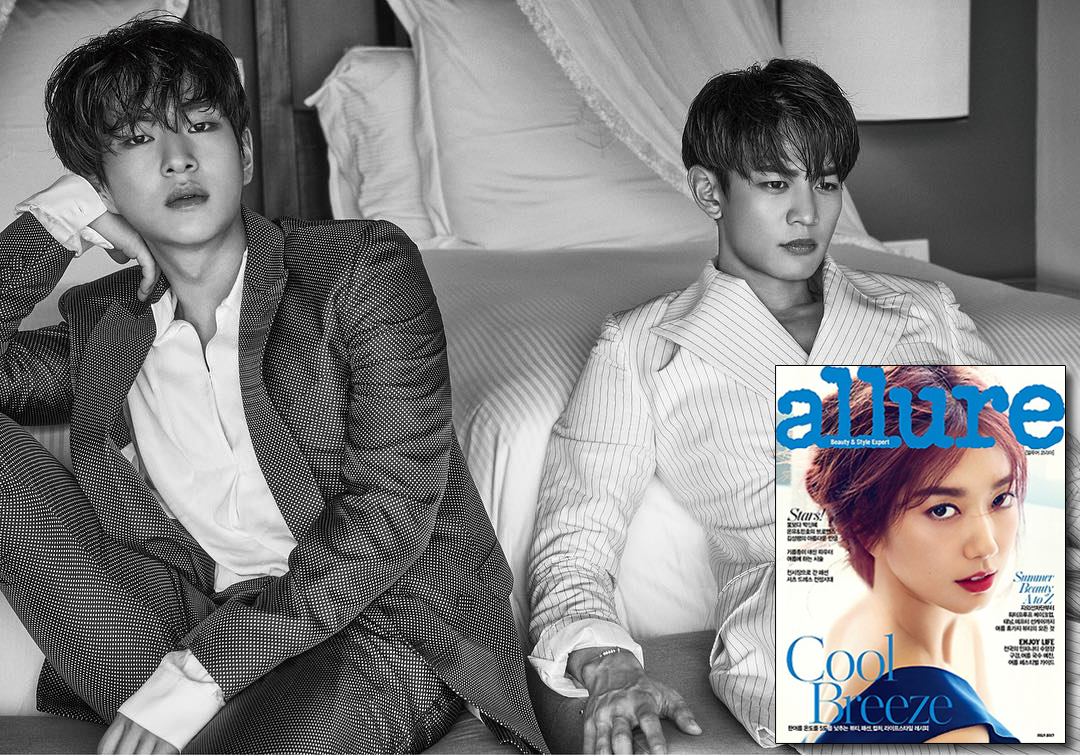 [Mag] Onew & Minho for Allure July 2017