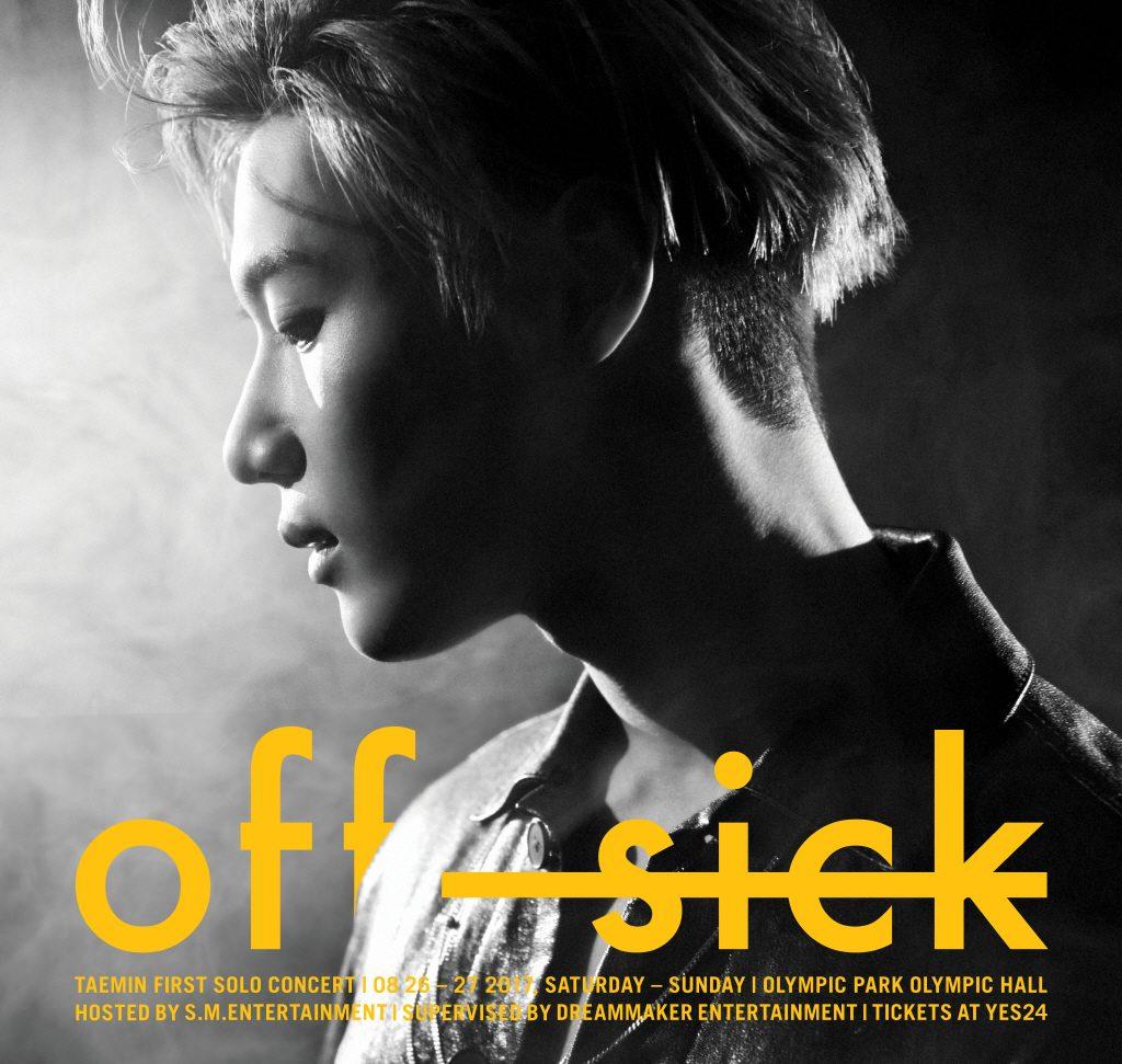 Concert] Taemin: OFF-SICK in Seoul – SHINee USA