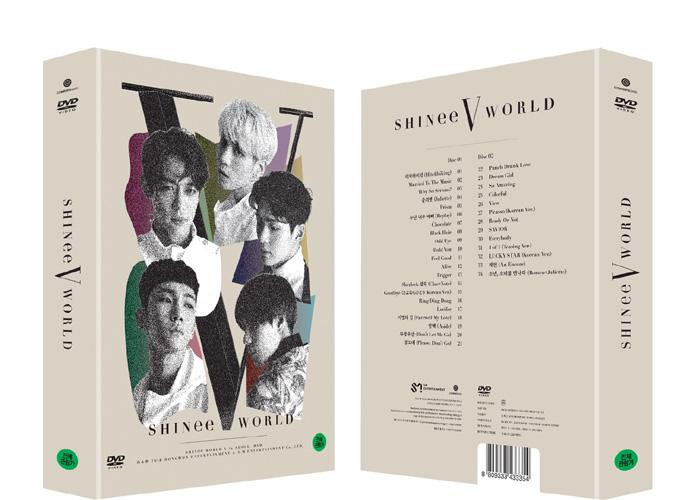 SHINee World V in Seoul DVD Release~!