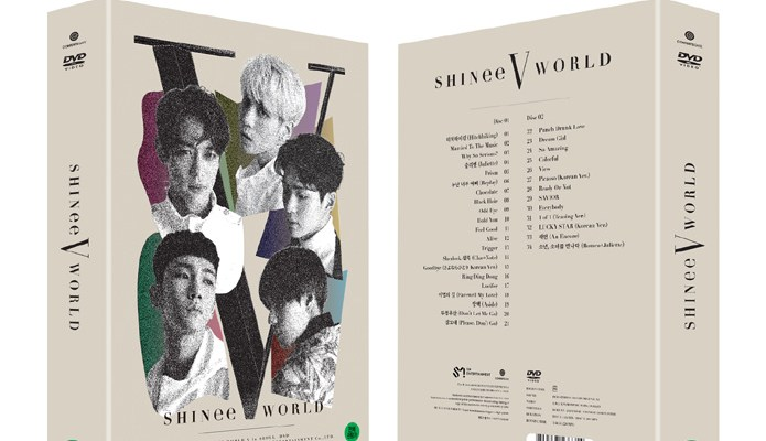 SHINee World V in Seoul DVD Release~!