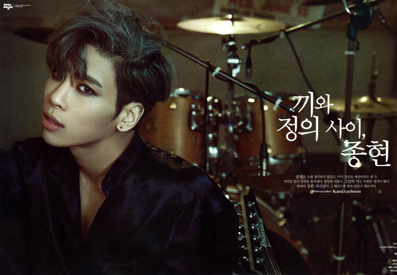Jonghyun Solo Magazine Interviews 2015-2017