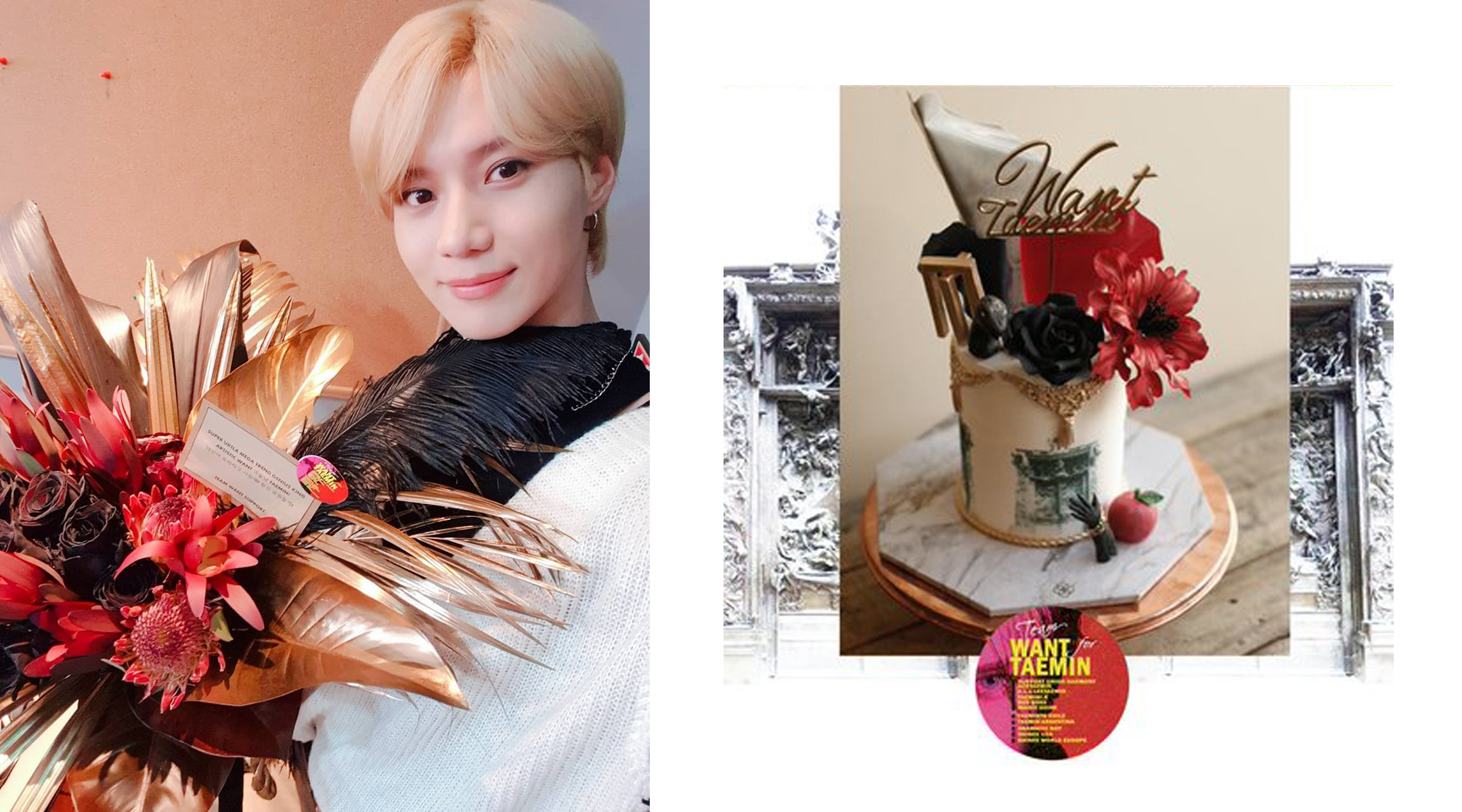 "TAEMIN ""WANT"" FOOD SUPPORT PROJECT"