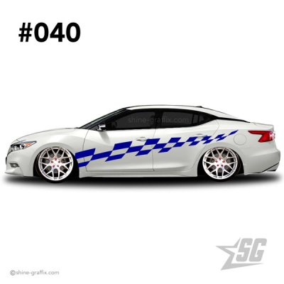 car graphic 40 decal stripe graphics static