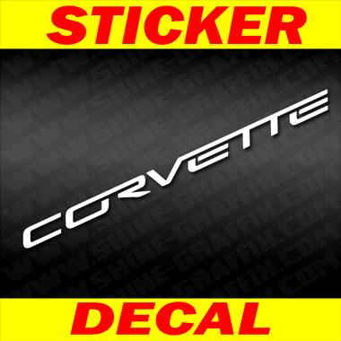 Corvette C6 Decal