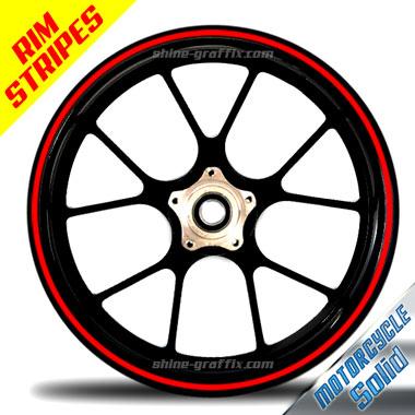 Wheel Rim Stripe solid Bike