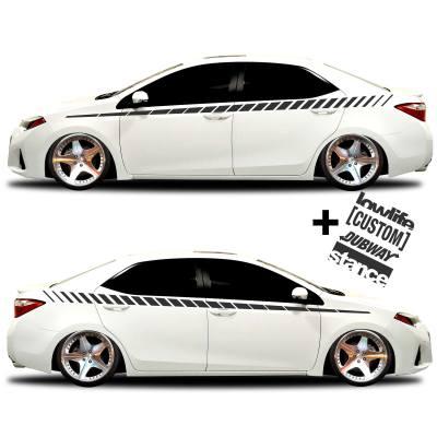 car vinyl graphics 20 Matte black