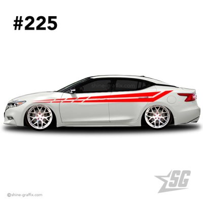 car graphic 225 decal stripe graphics fresh