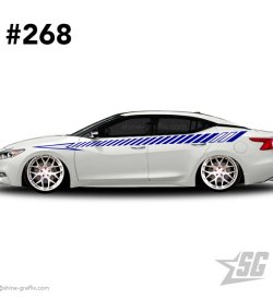 car graphic 268 decals stripe graphics static jdm
