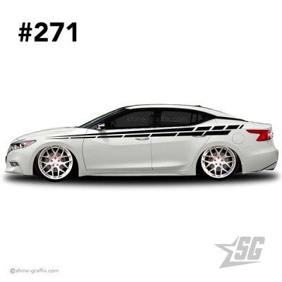 car graphic 271 decals stripe graphics static euro