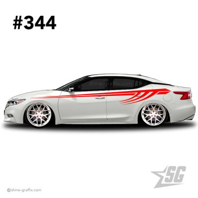 car graphic 344 decals stripe graphics race tribal