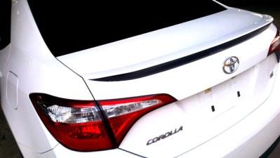 Rear wing Toyota Corolla Decal