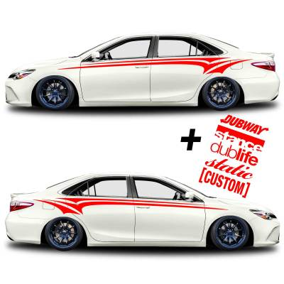 car vinyl graphics 333 red