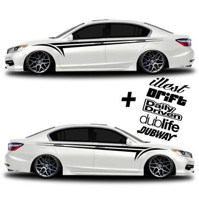 car vinyl graphics 338 black