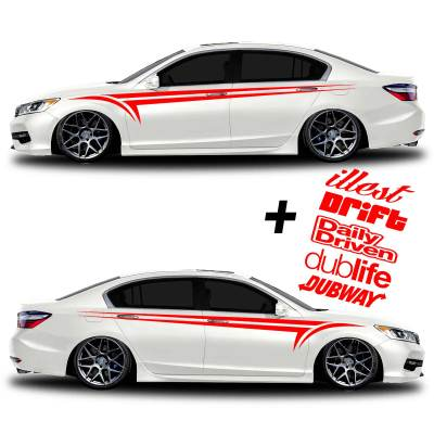 car vinyl graphics 338 red