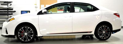 Toyota Corolla Xsp side graphics 1