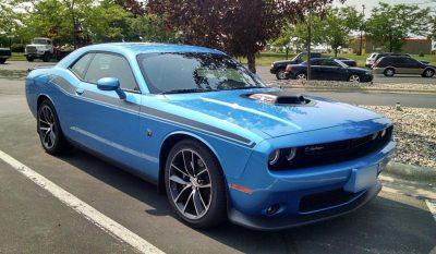 Dodge Challenger R/T replica stripes graphics #403