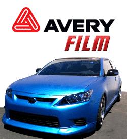 Avery Car Wrap Film