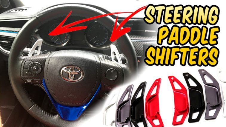Steering Wheel Paddle Shifters Install - Toyota Corolla, Camry, Rav4