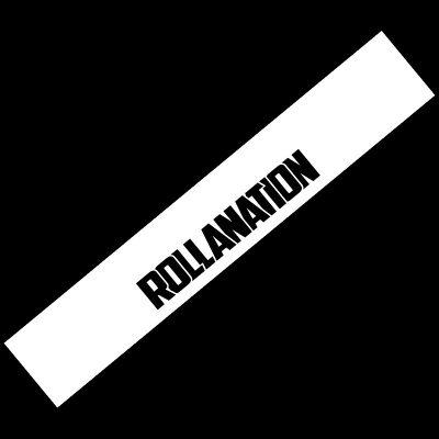 Rollanation decal Windshield banner sample corolla club