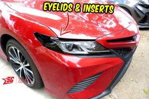 2020 toyota camry eyelids AMBER Delete inserts