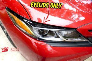 2020 Toyota Camry black eyelids only