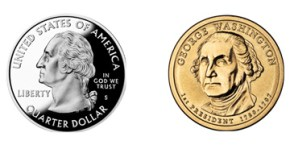 Presidents' Day Coins