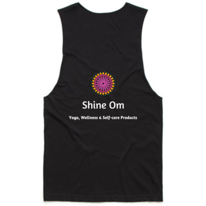 Purchase your Shine Om Tank Tee from shineom.com.au/shop