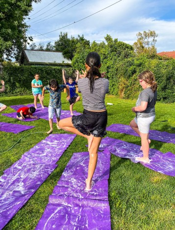 Shine Om teaches Kids & Teen Yoga. Visit shineom.com.au for more info.