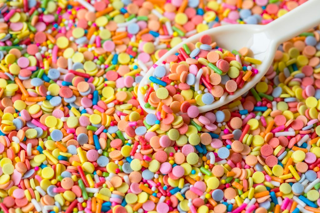 Spoonful of tasty drugs. Yum.